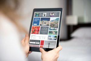 Image of a company website | B2B marketing strategies