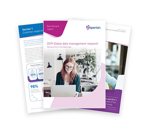 experian global data management report
