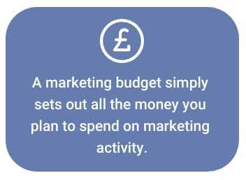 What is a marketing budget?