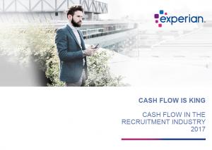 cash flow in recruitment