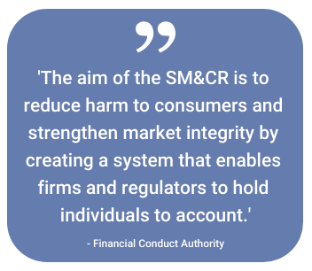 What is SM&CR?